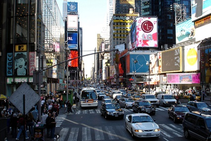 Times Square NYC has many attractions
